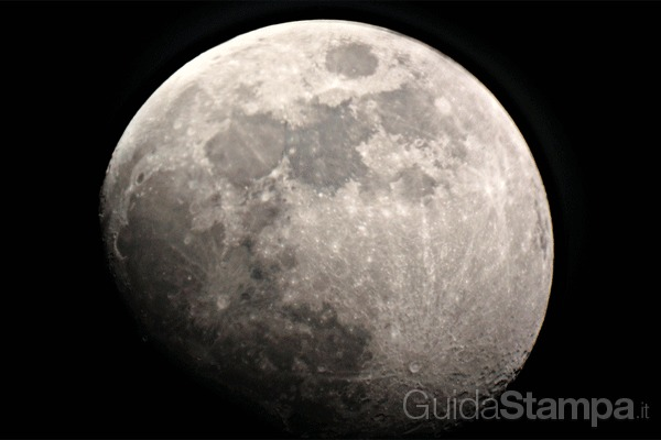 La stampa  3D sbarca sulla luna